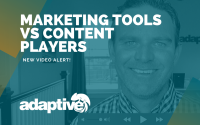 Marketing Tools vs Content Players